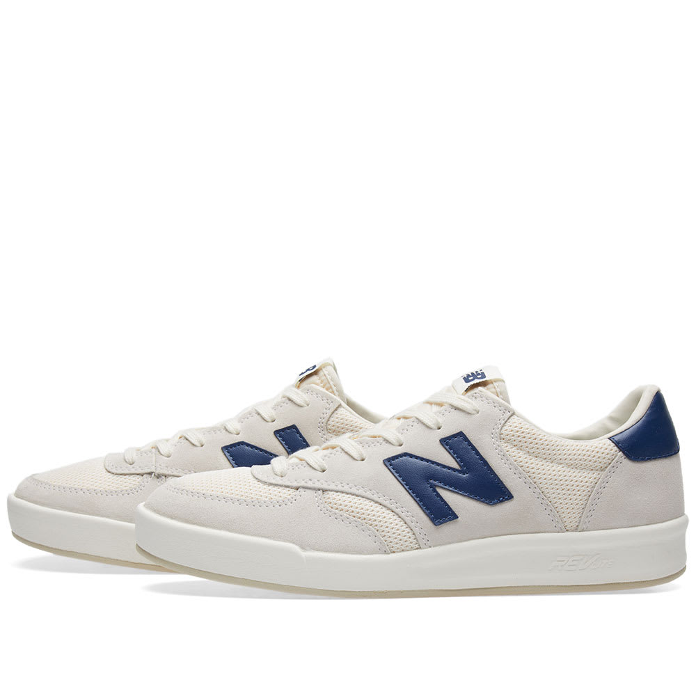 1330e85042b6 New Balance CRT300WA White   Navy