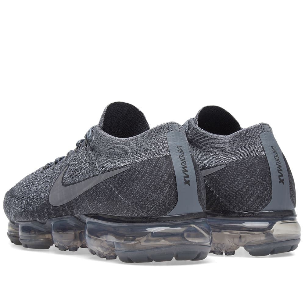 155e5c9196cc NikeLab Air Vapormax Flyknit Cool Grey   Dark Grey