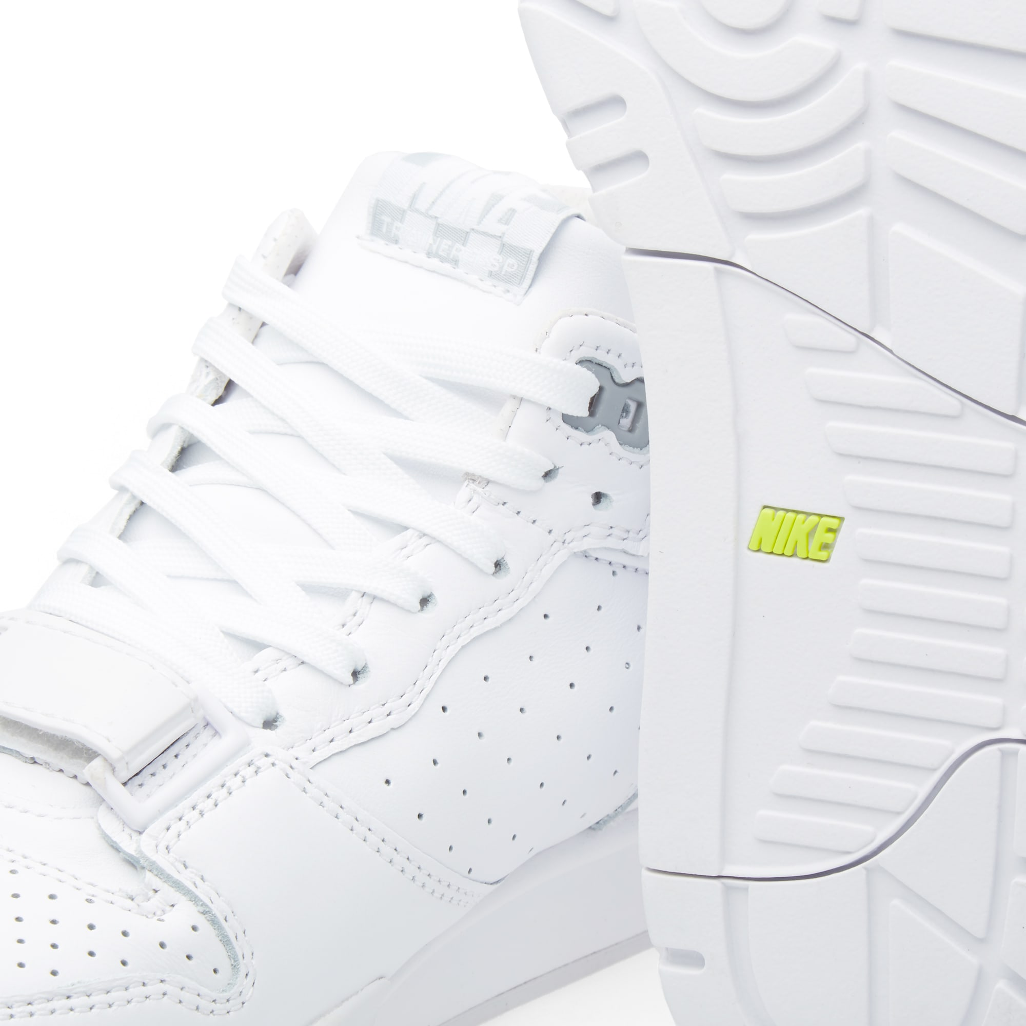 separation shoes e8552 1971f Nike x Fragment Design Air Trainer 1 Mid SP White   Wolf Grey   END.