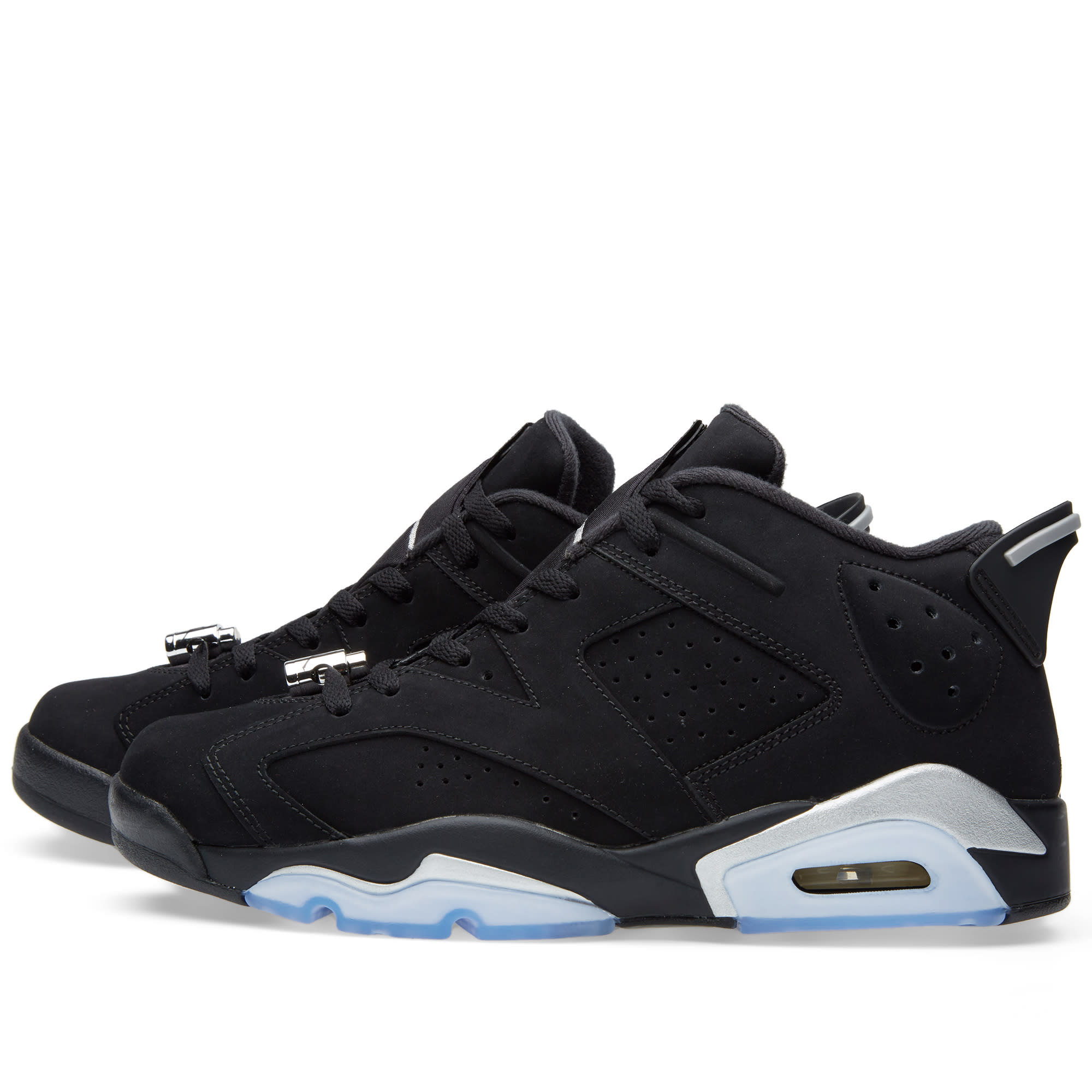 9ff240fe25ab Nike Air Jordan 6 Retro Low Black