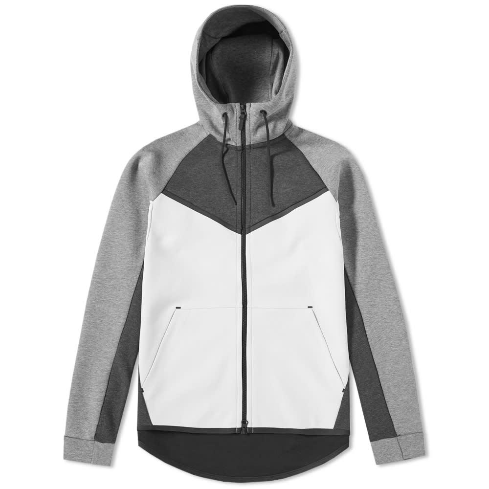 reposo por favor confirmar Recepción  Nike Tech Fleece Windrunner Black Heather & Light Bone | END.