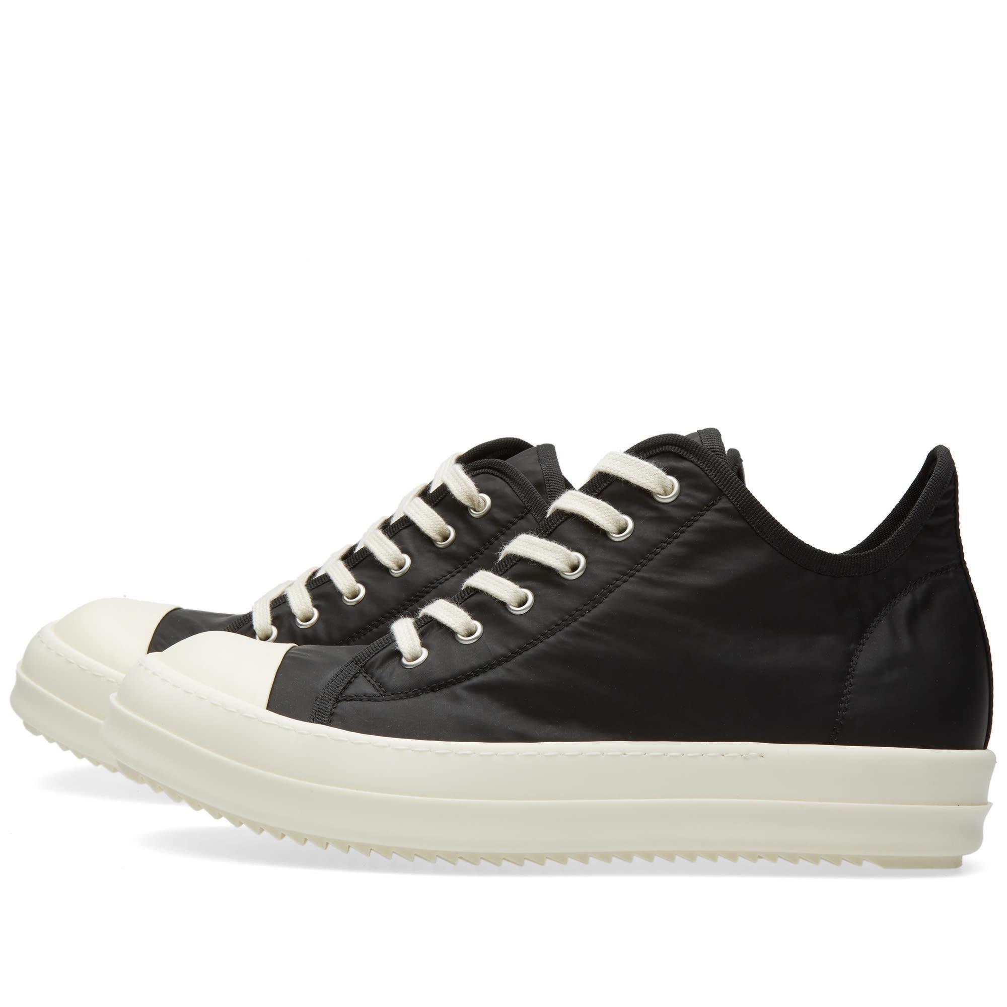 Rick Owens DRKSHDW Low Sneaker Black