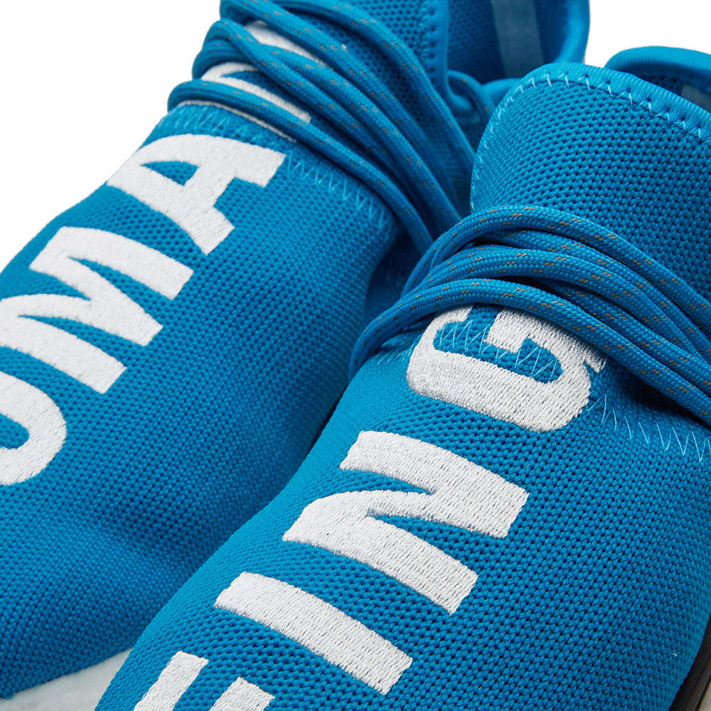e54a844d8cc01 Adidas x Pharrell Williams Hu Human Race NMD Sharp Blue   White