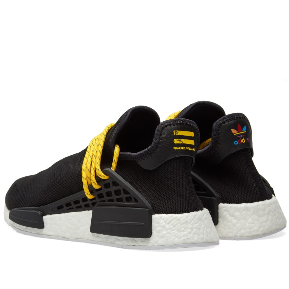huge discount 33fc8 d5f99 Adidas x Pharrell Williams Hu Human Race NMD Core Black   END.
