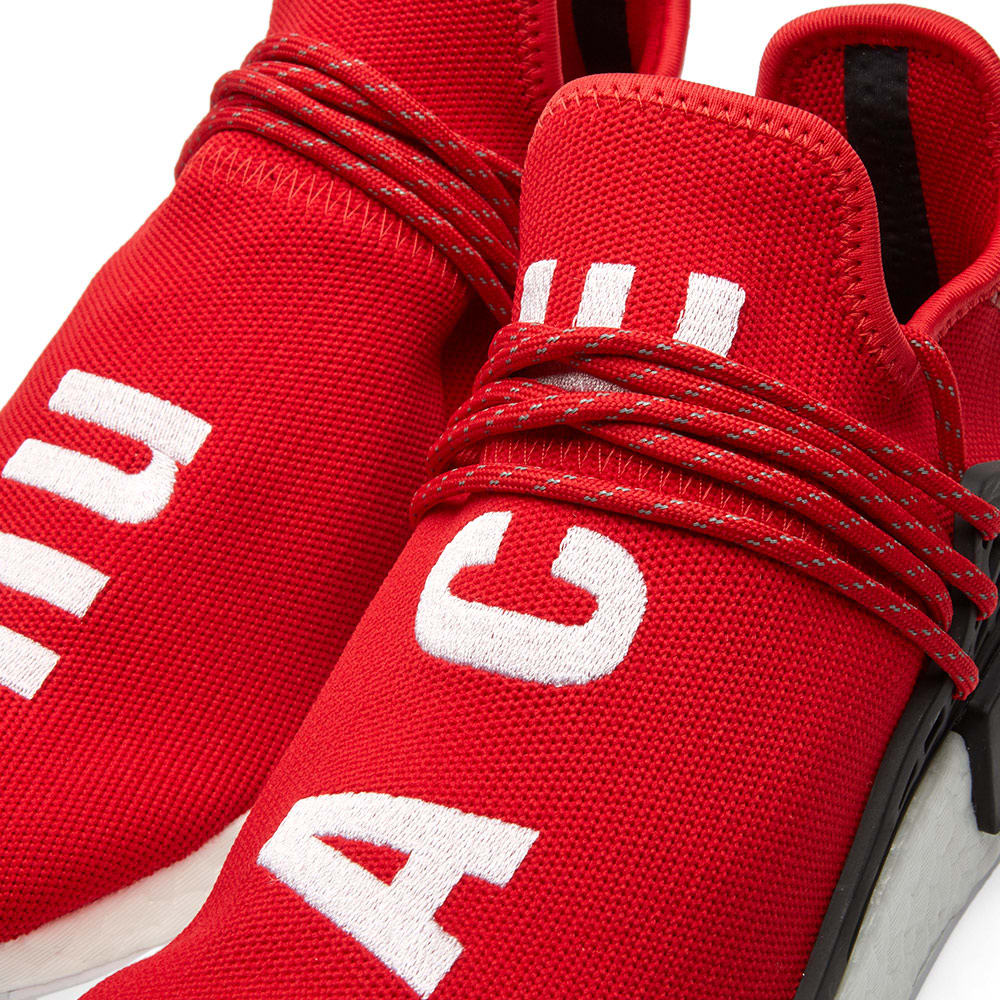 d566937b0 Adidas x Pharrell Williams Hu Human Race NMD Scarlet   White