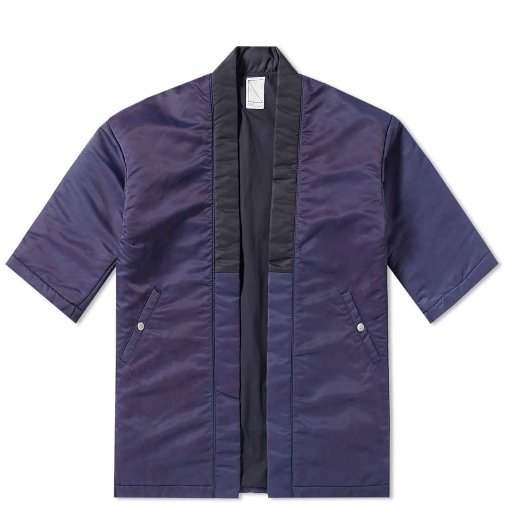 SOULIVE Soulive Haoki Flight Jacket in Blue