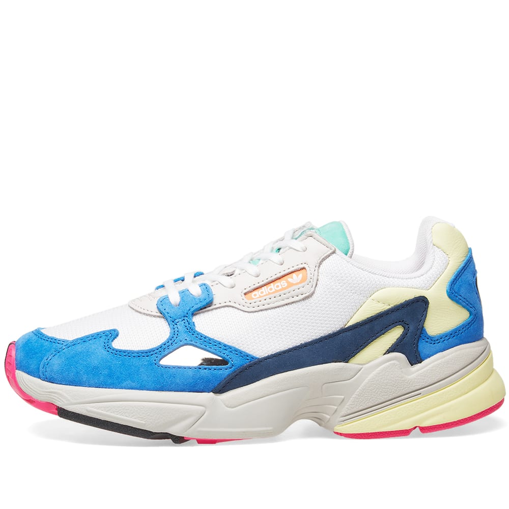 finest selection 53c31 e3092 Adidas Falcon W White   Blue   END.