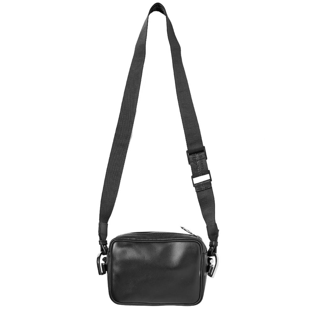 d83b20a73 Off-White Leather Crossbody Bag Black & White | END.