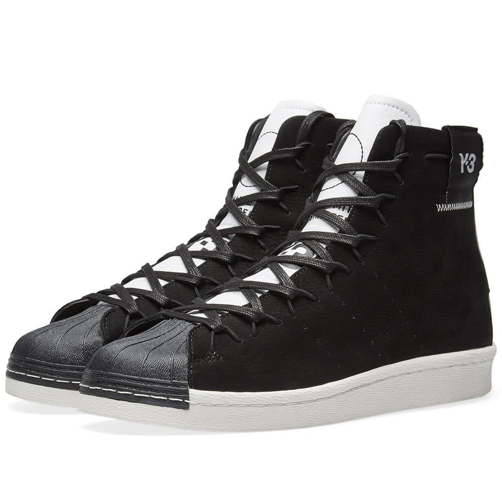 36b7473f5d891 Y-3 Super High Black   White