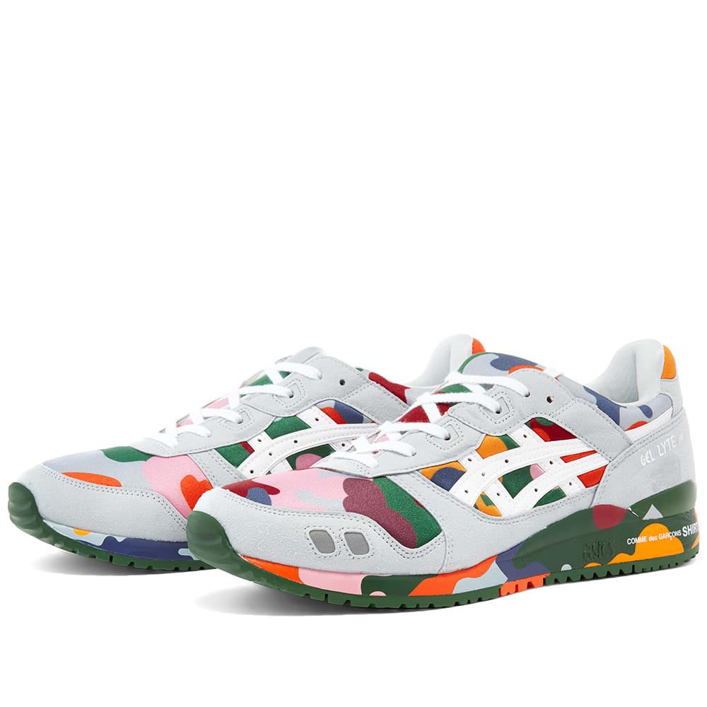 Comme Des Garçons Shirt Comme des Garcons SHIRT x Asics Gel Lyte III Multi Paneled Sneaker