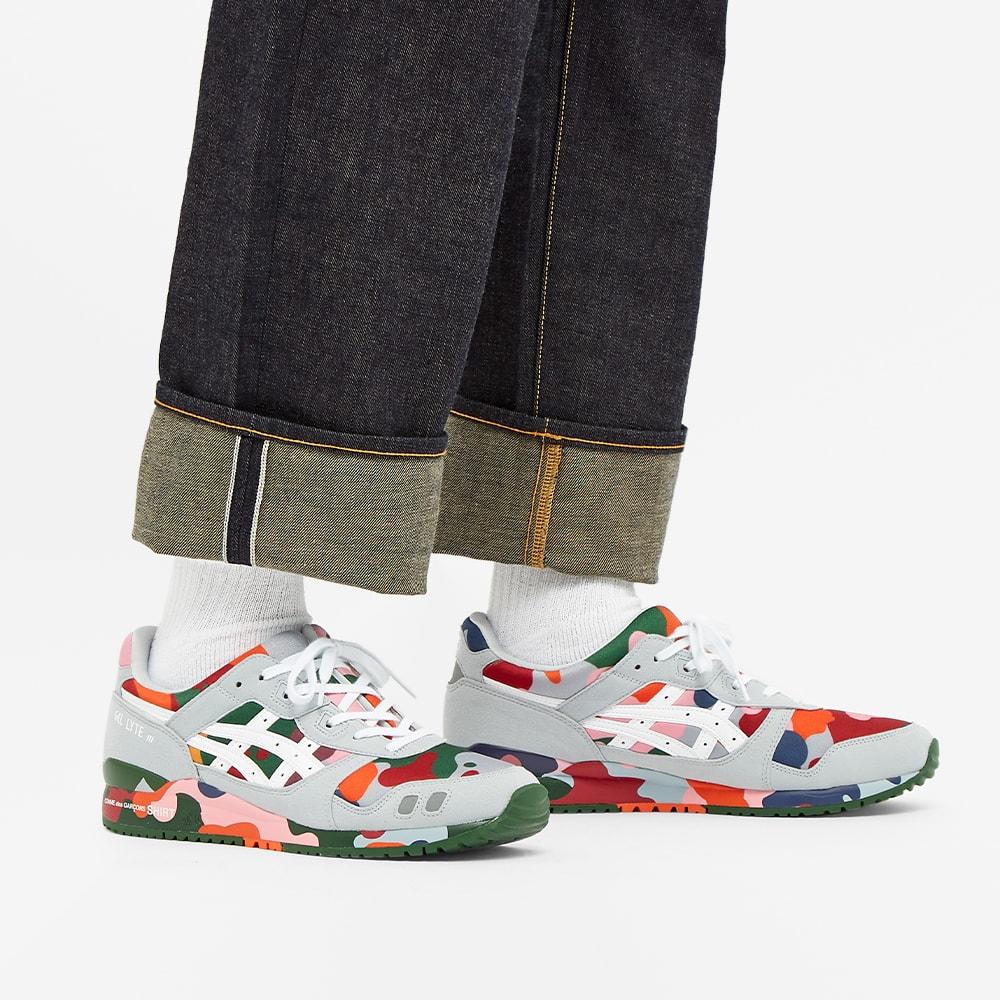Comme des Garcons SHIRT x Asics Gel Lyte III Multi Paneled Sneaker