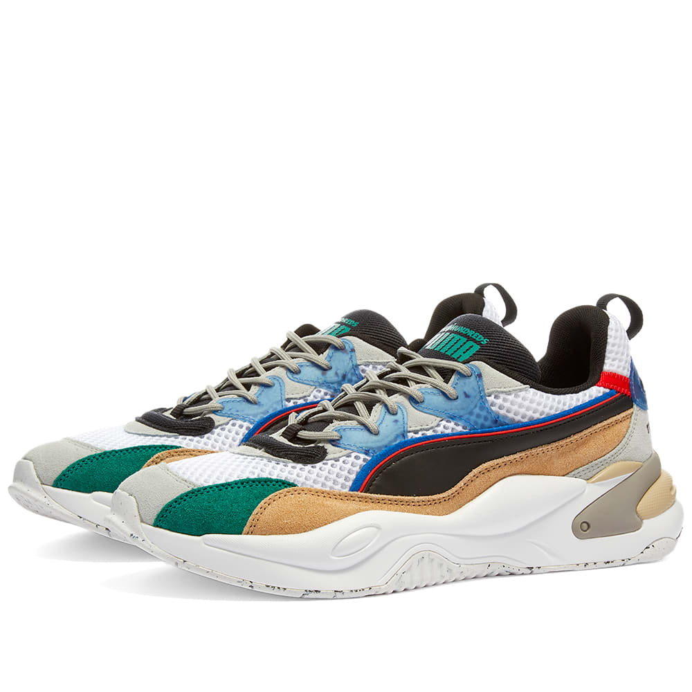 Puma Rs 2k Hf The Hundreds Recycled Mesh Uppers Fotomagazin