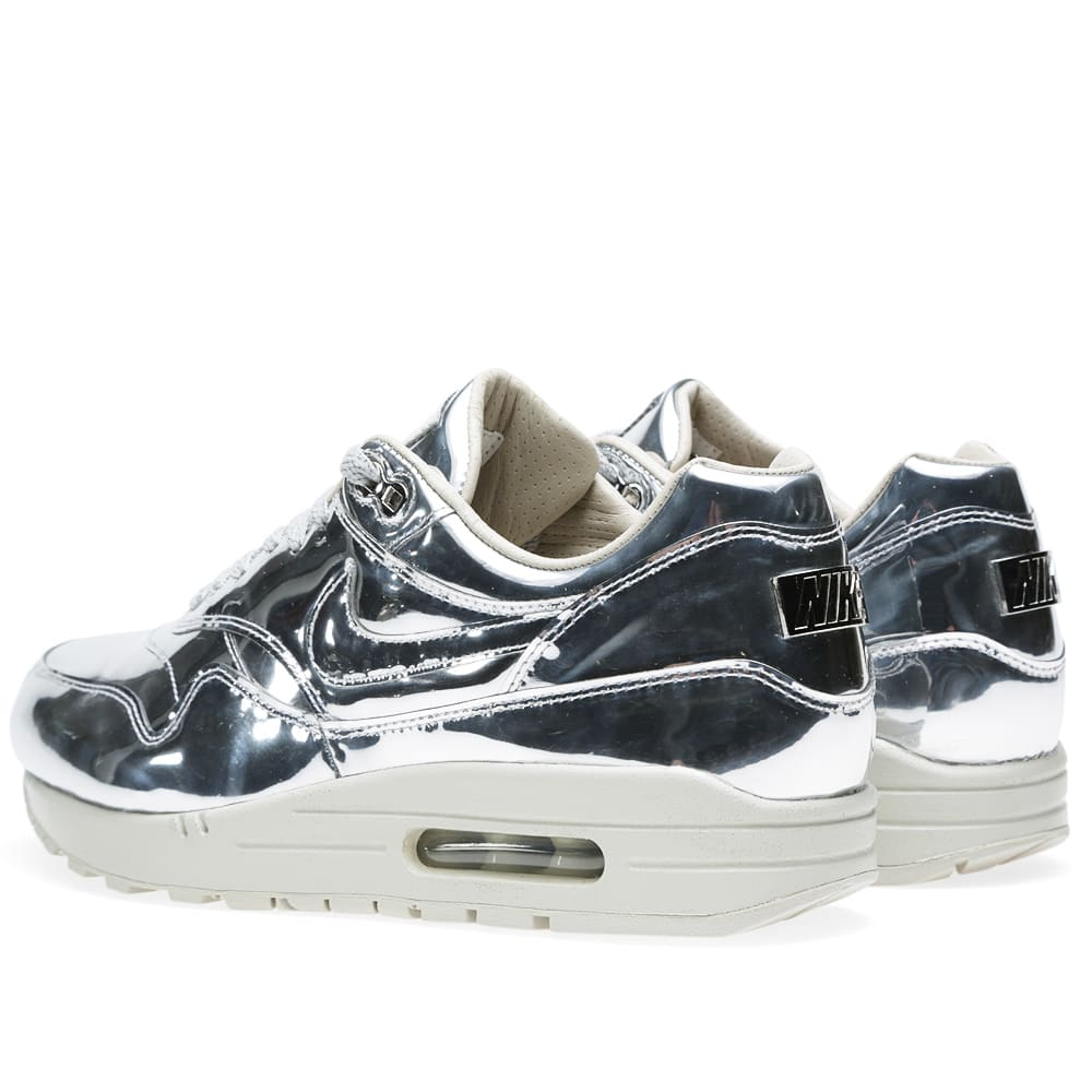 new product c4f82 42759 Nike Air Max 1 SP  Liquid Silver  Metallic Silver   Light Bone   END.