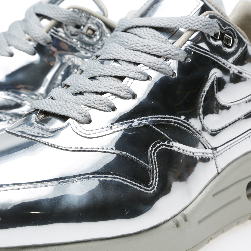 info for 54ae4 9aebe Nike Air Max 1 SP 'Liquid Silver' Metallic Silver & Light Bone | END.