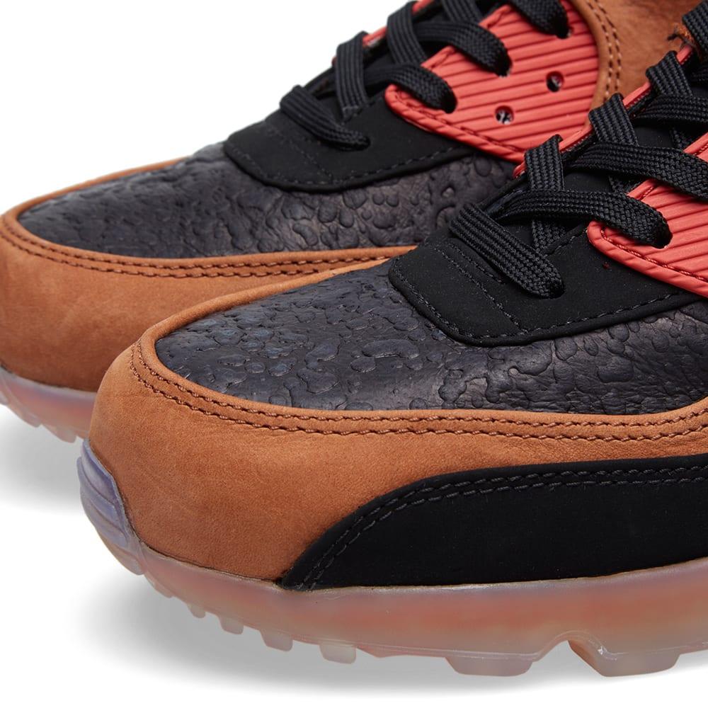 buy online 92469 14c36 Nike Air Max 90 Ice Halloween QS Black, Team Red   Cognac   END.