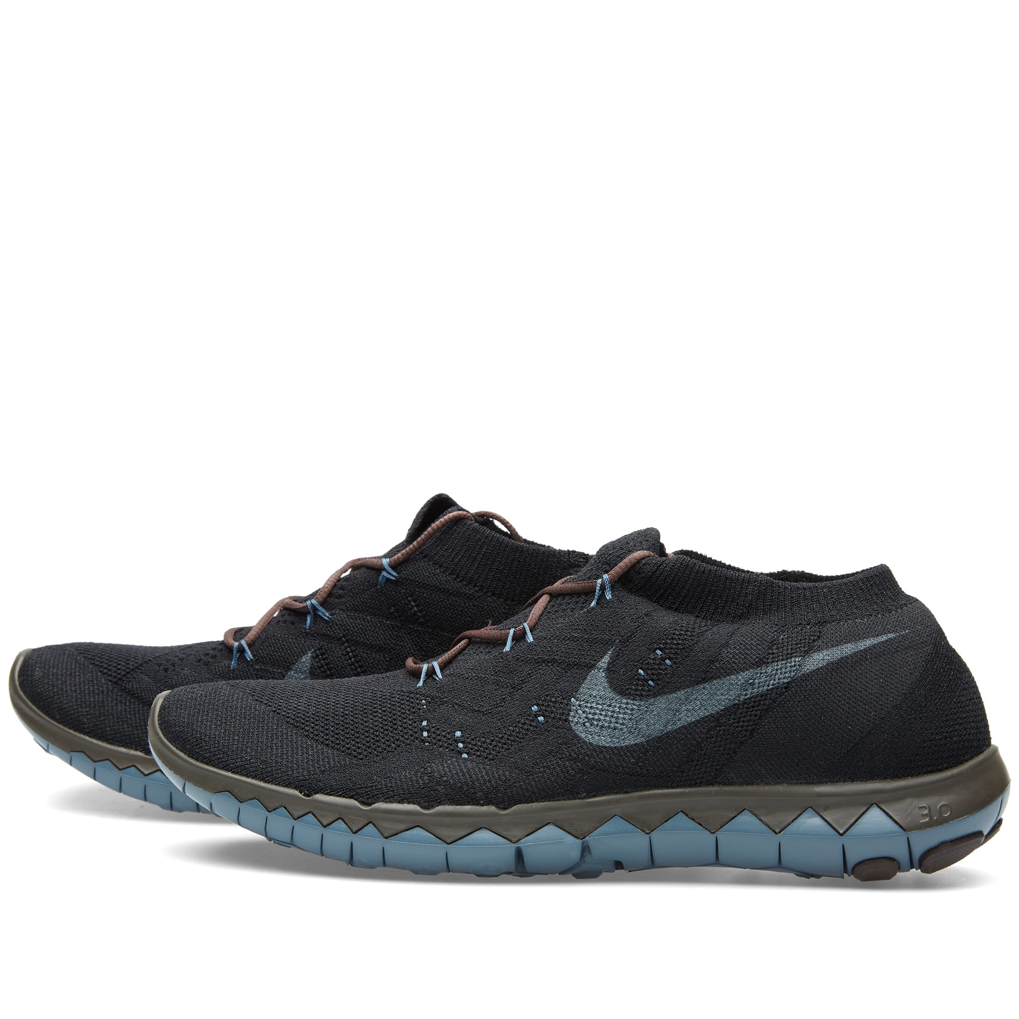 sports shoes 317a9 f1995 Nike x Undercover Gyakusou Free Flyknit 3.0 Black, Baroque Brown   Slate    END.