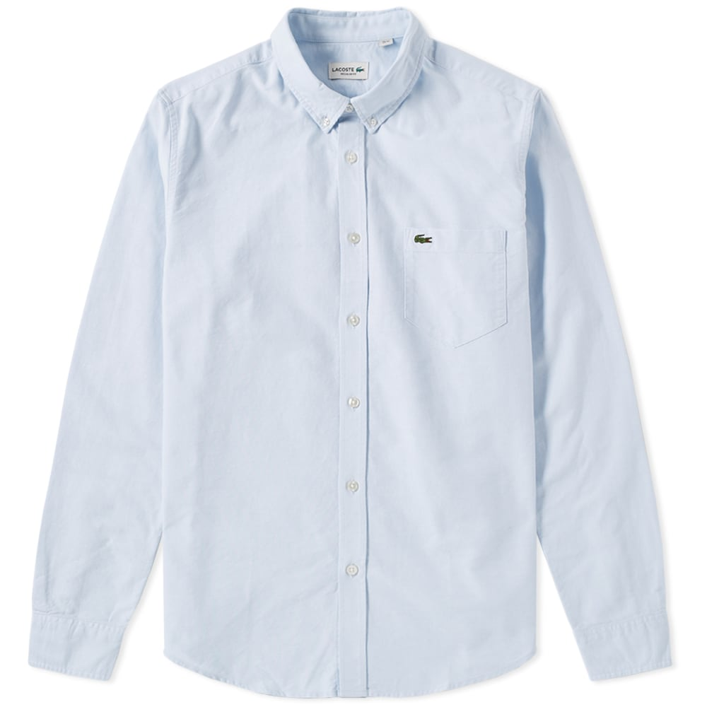 14837813 Lacoste Button Down Oxford Shirt Atmosphere | END.