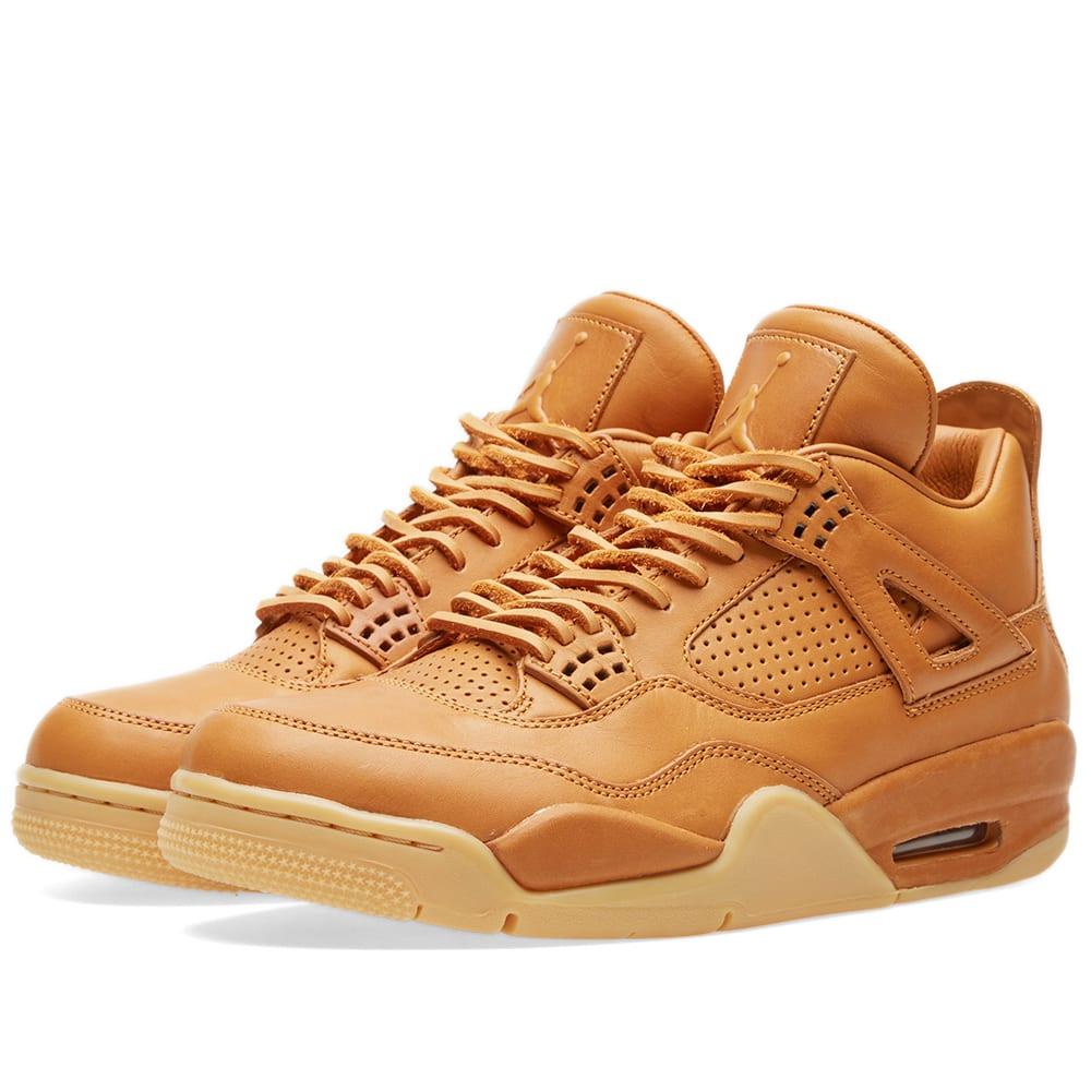 online retailer 28d00 fd68f Nike Air Jordan 4 Retro Premium Ginger   Gum Yellow   END.