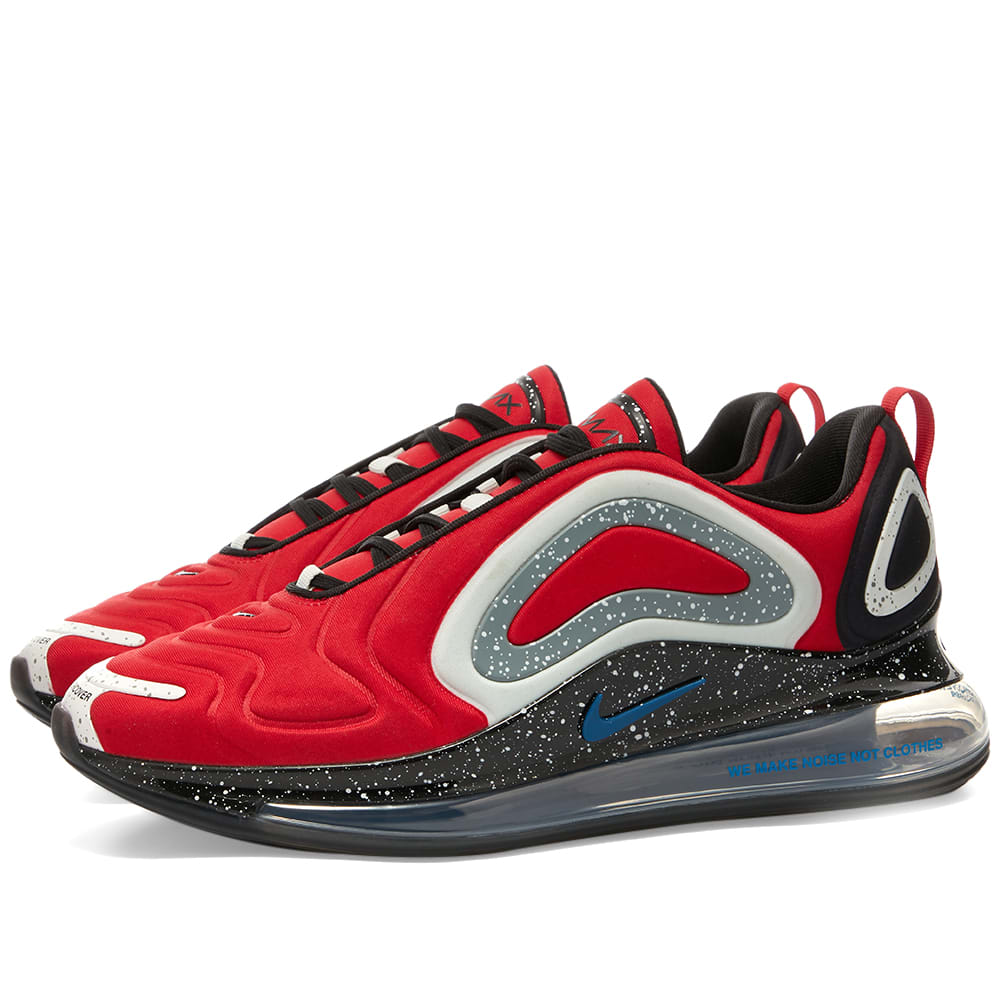 Nike X Undercover Air Max 720 University Red Blue Jay End