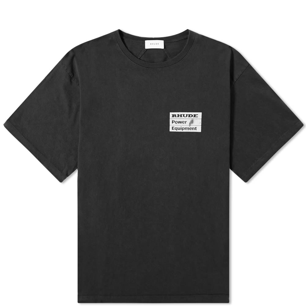 Rhude Tops Rhude Power Equipment Tee