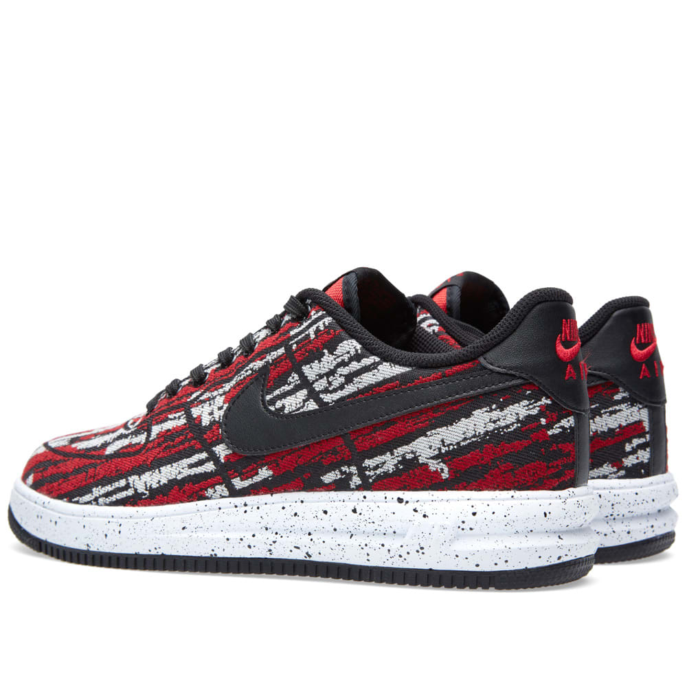 sneakers for cheap cb675 f6581 Nike Lunar Force 1  14 Jacquard QS. Gym Red   Black
