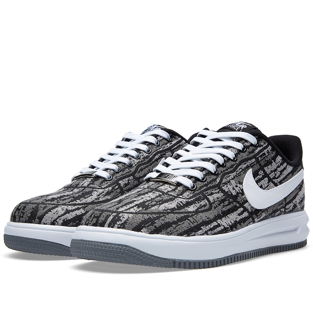514b576bd63a Nike Lunar Force 1  14 Jacquard QS Black   White