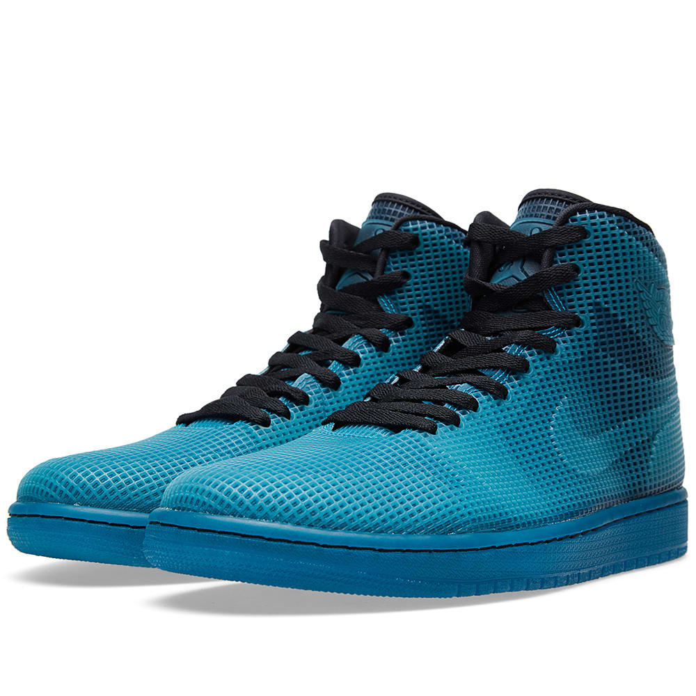 sports shoes 8ad36 2e304 Nike Air Jordan 4LAB1  Tropical Teal  Black   Tropical Teal   END.