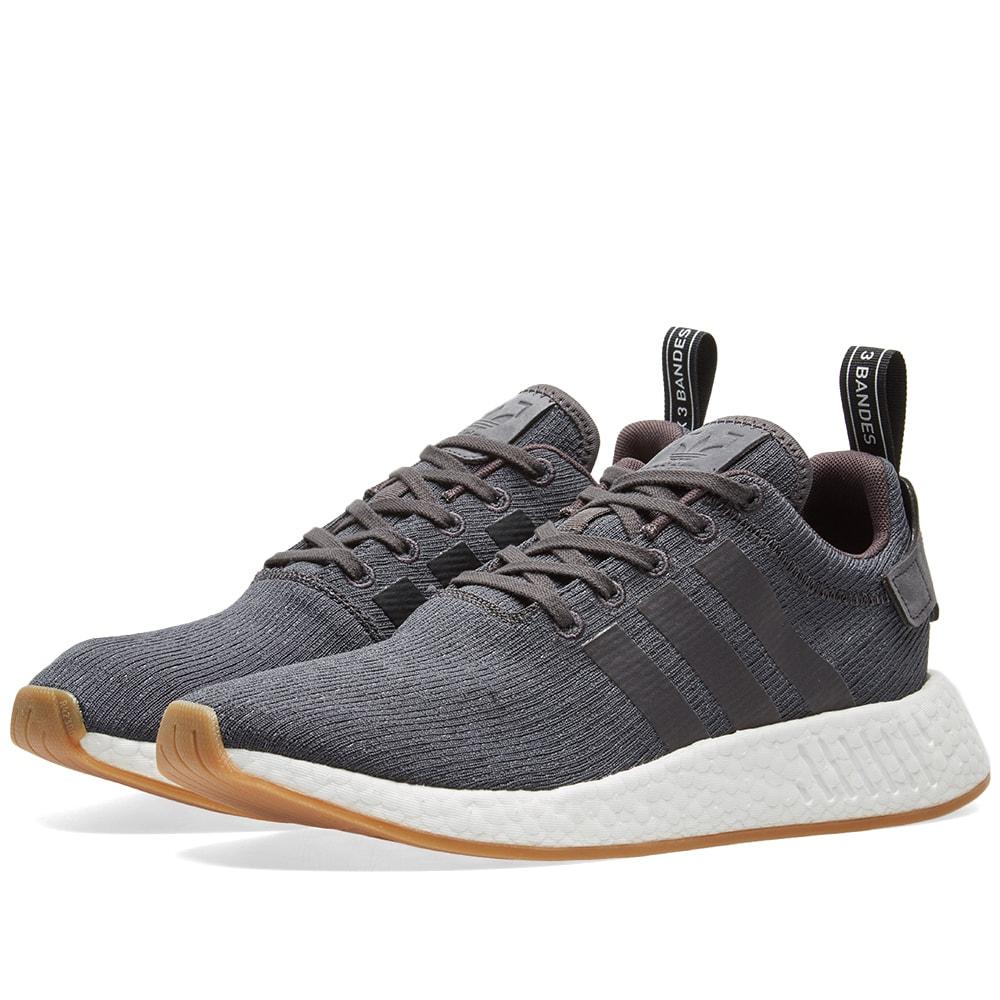 Adidas Nmd R2 Grey Five Core Black End