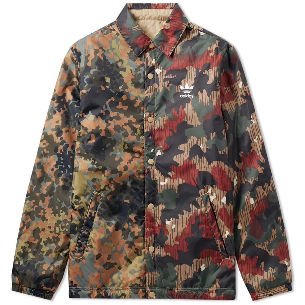 77a7472f72548 Adidas x Pharrell Williams Reversible Coach Jacket Multi