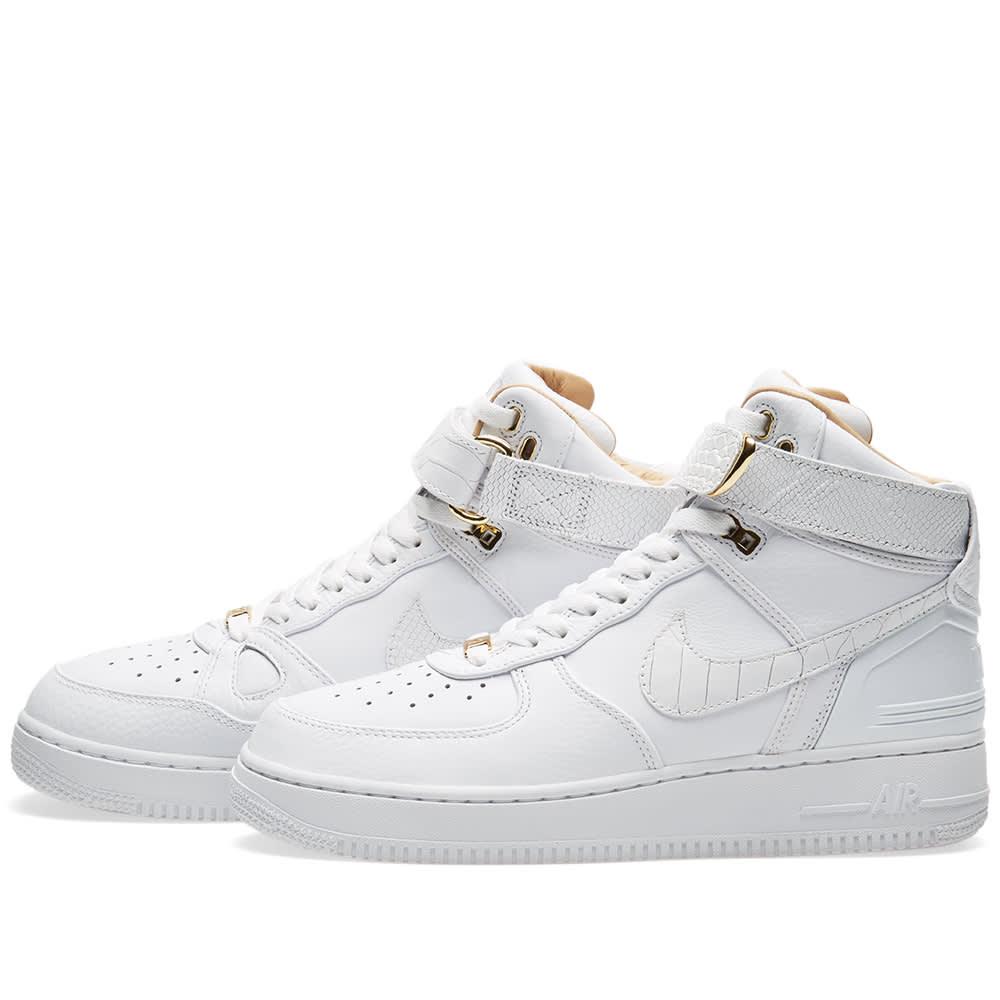 5d5f7e830001a5 Nike Air Force 1 Hi  Just Don  Triple White