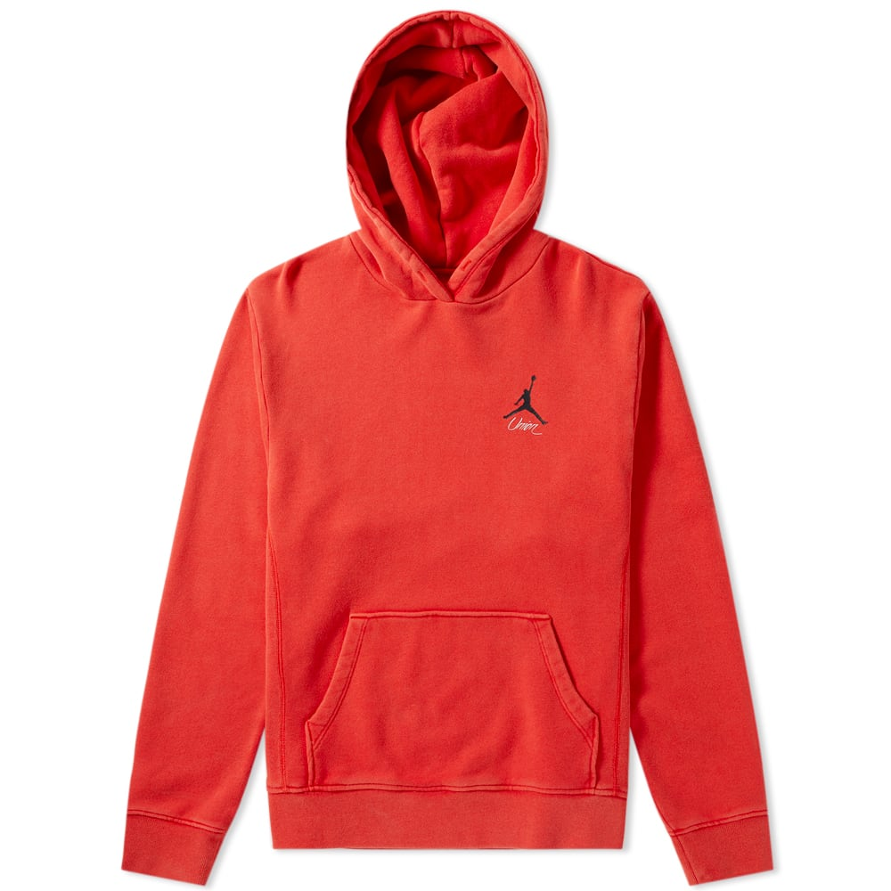 4e87a0031ee2 Air Jordan x Union Vault Flight Hoody University Red
