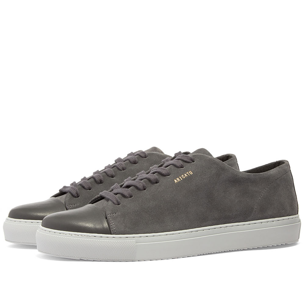 Axel Arigato Toe Cap Sneaker Dark Grey