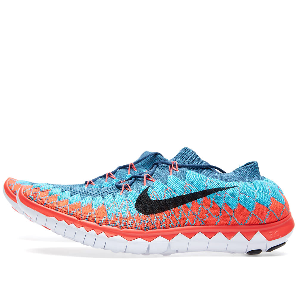 Mens Nike Free Trainer   Mid Shield Running Shoes