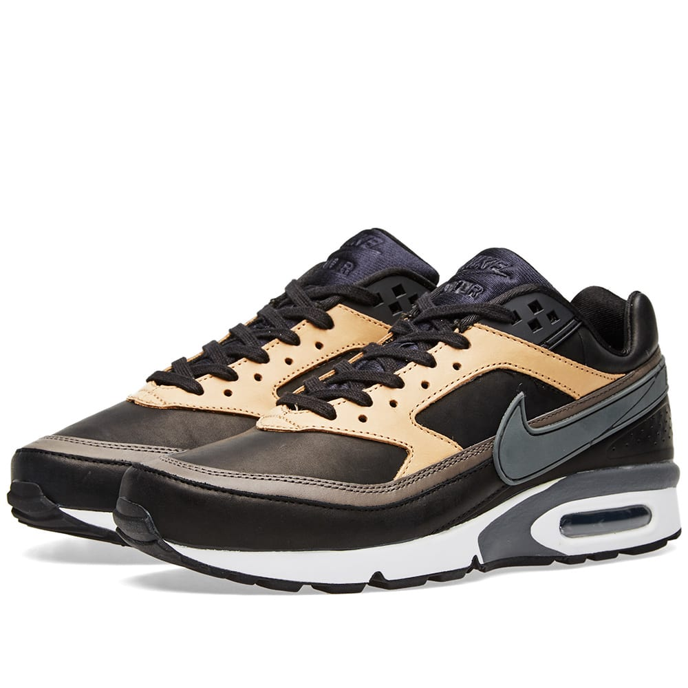 2011163458c5 Nike Air Max BW Premium Black, Grey & Vachetta Tan | END.