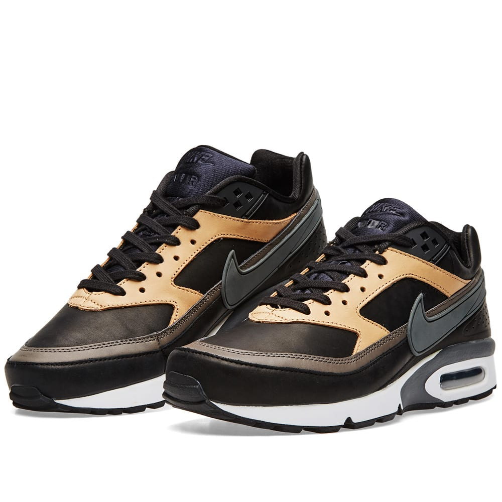 ccfbc732dd Nike Air Max BW Premium Black, Grey & Vachetta Tan | END.