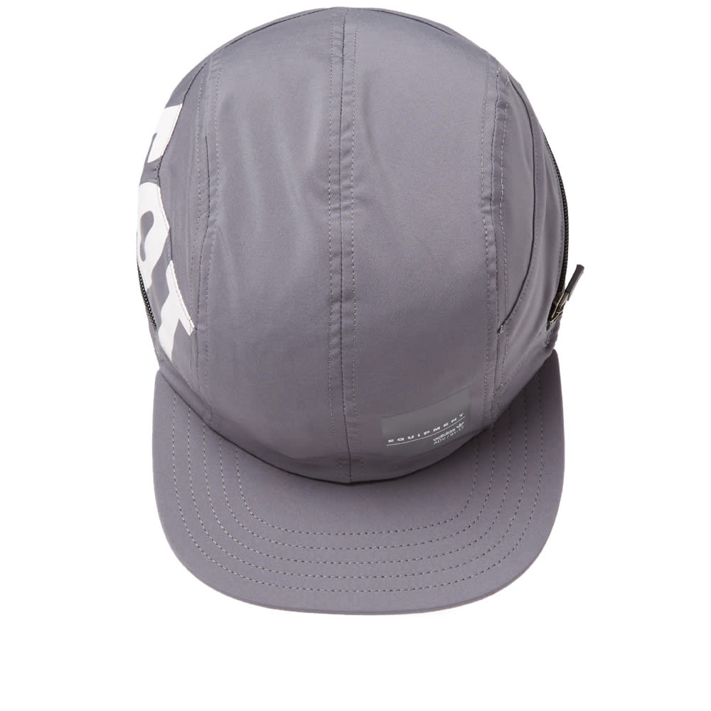 0b45ecce056 Adidas EQT 4 Panel Cap Grey   White
