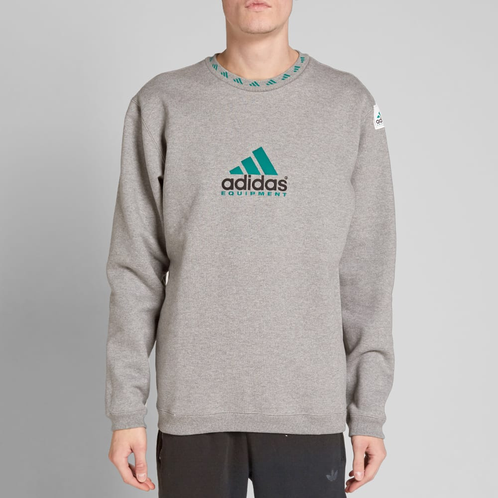 adidas equipment turquoise sweatshirt