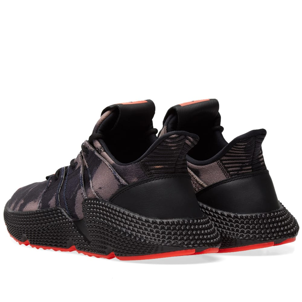 71f468ef7517e Adidas Consortium Prophere Core Black & Solar Red | END.