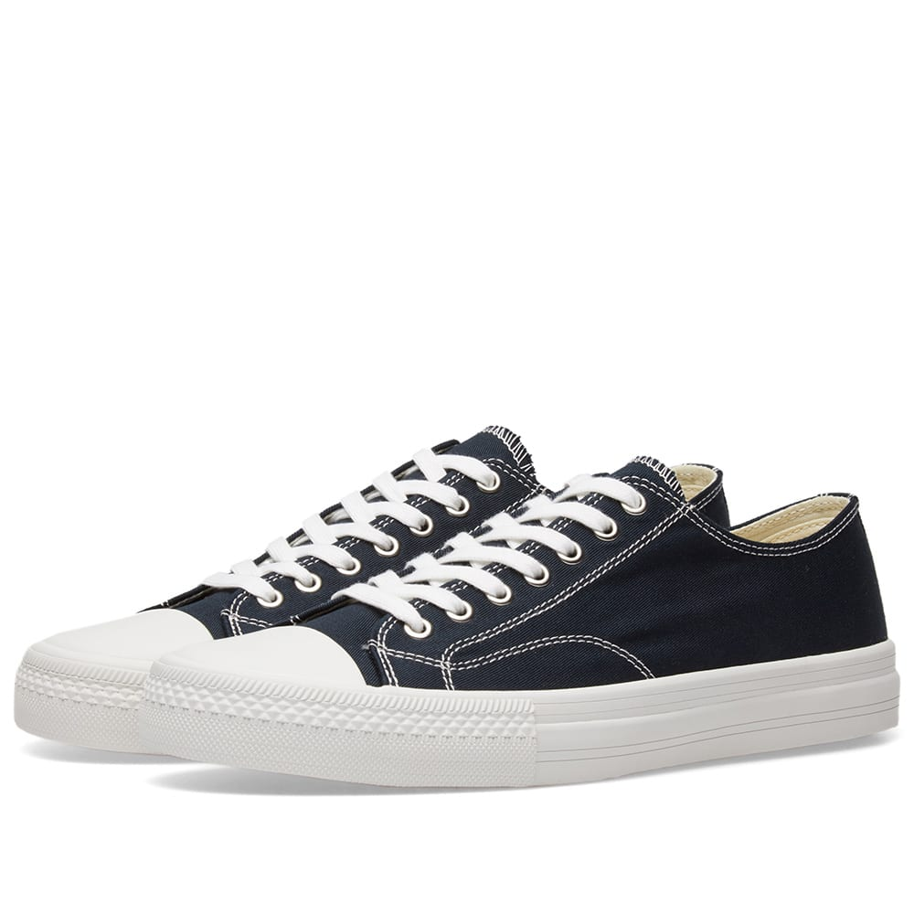 JUNYA WATANABE Navy Twill Sneakers How Much Amazing Price Online WrkpLl7ln8