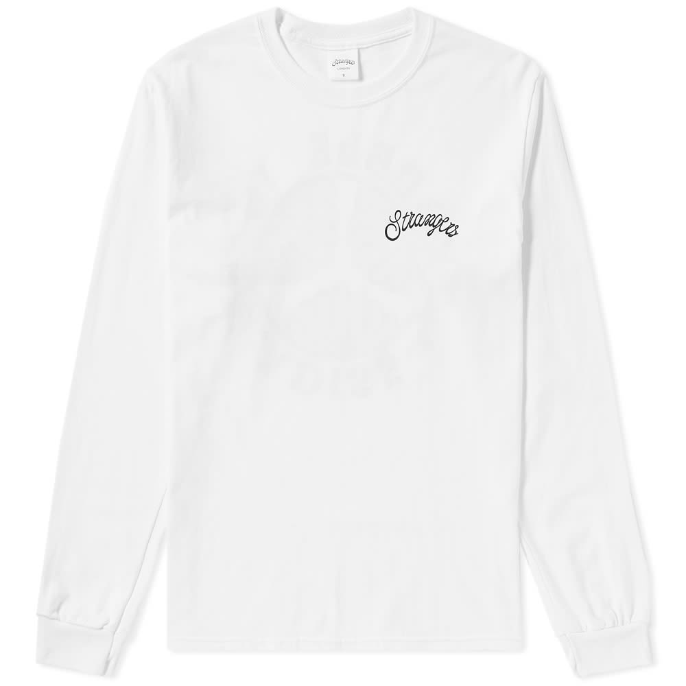STRANGERS LONG SLEEVE TROUBLE IN PARADISE TEE