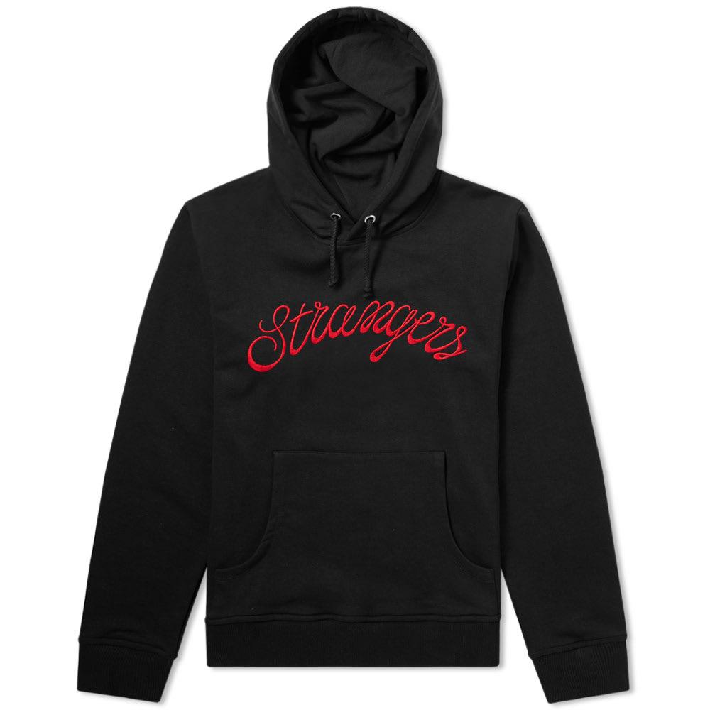 STRANGERS Strangers Logo Hoody in Black