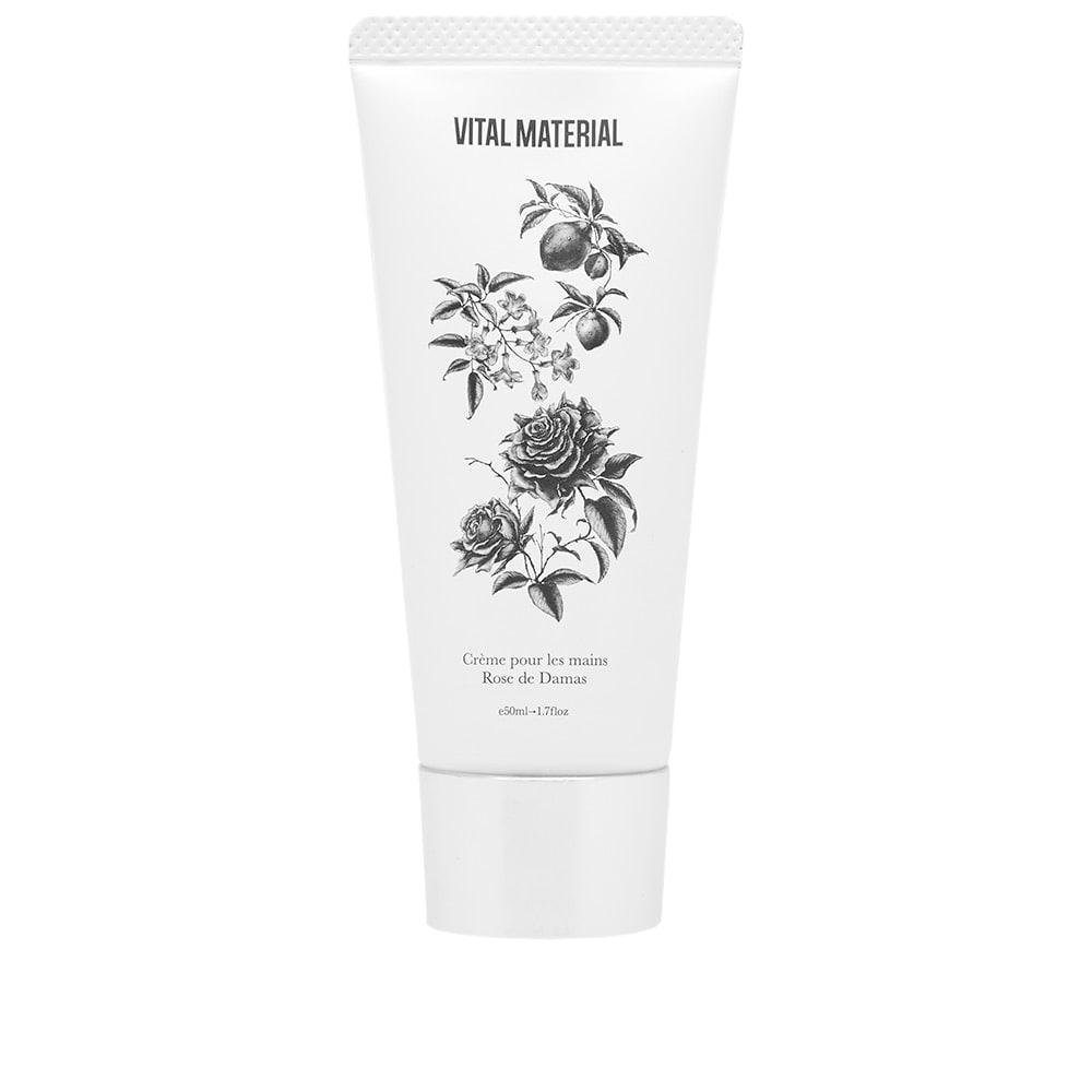 VITAL MATERIAL Vital Material Rose Hand Cream