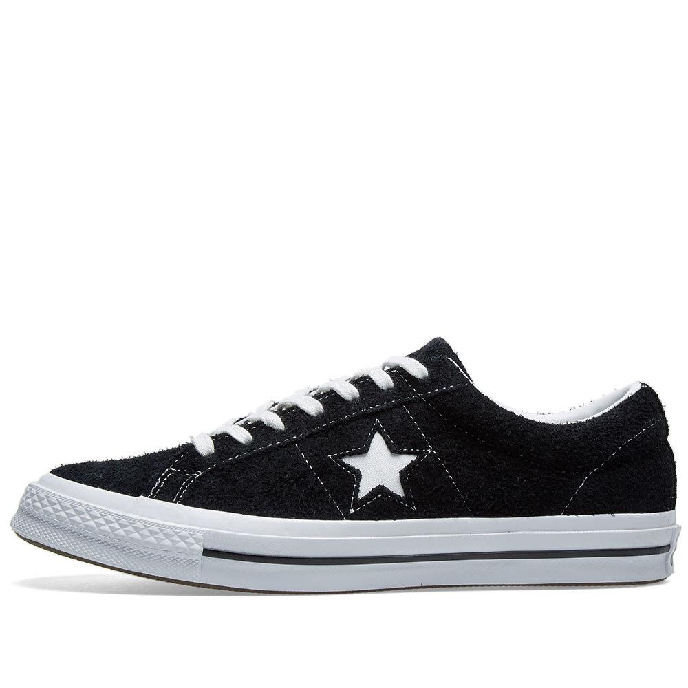 39ed6922e07b7b Converse One Star 74 Black   White