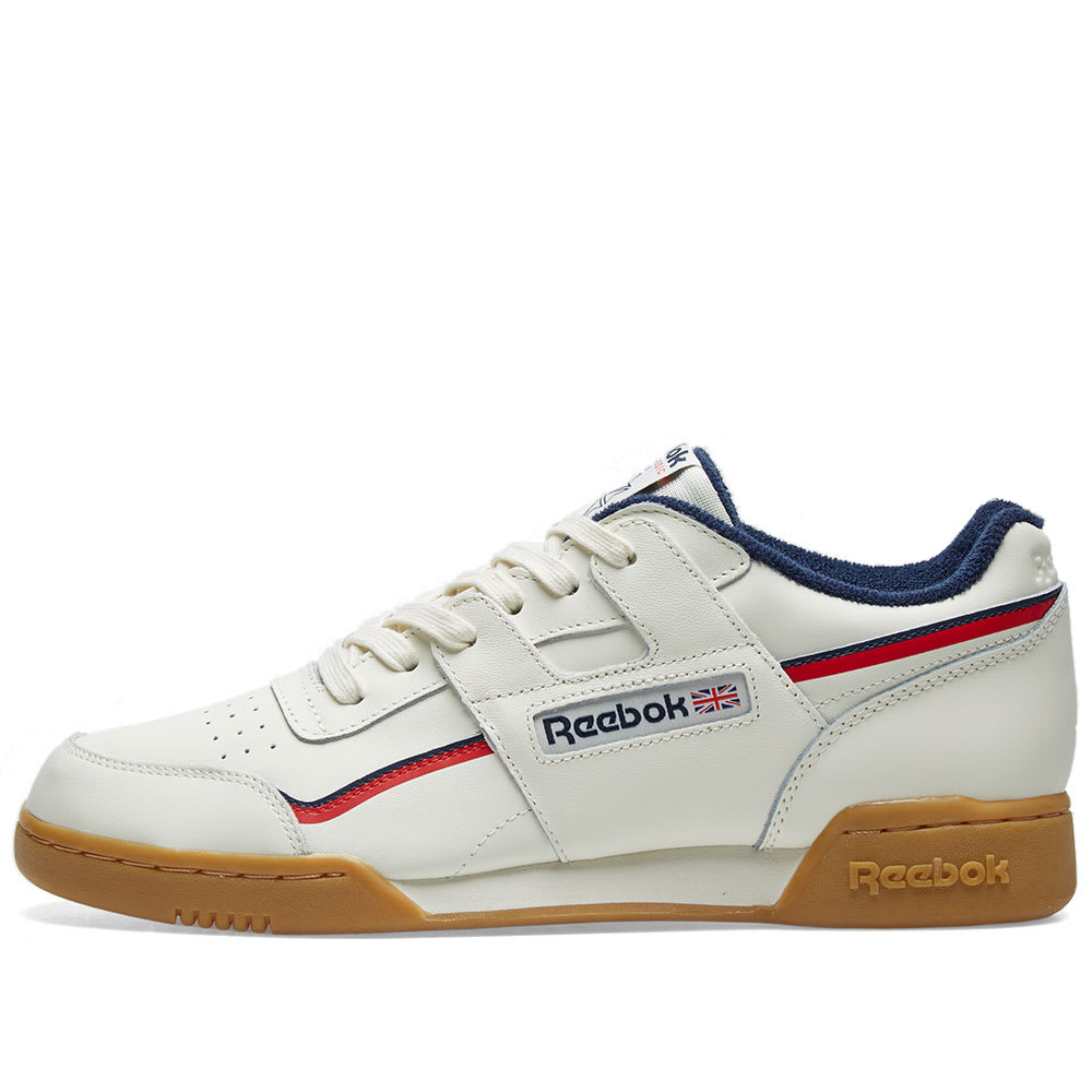 8dfcd933ab4 Reebok Workout Plus Vintage Gum White