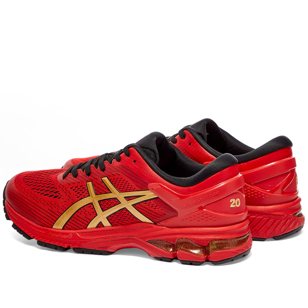 Asics Gel-Kayano 26 'Lucky' Classic Red