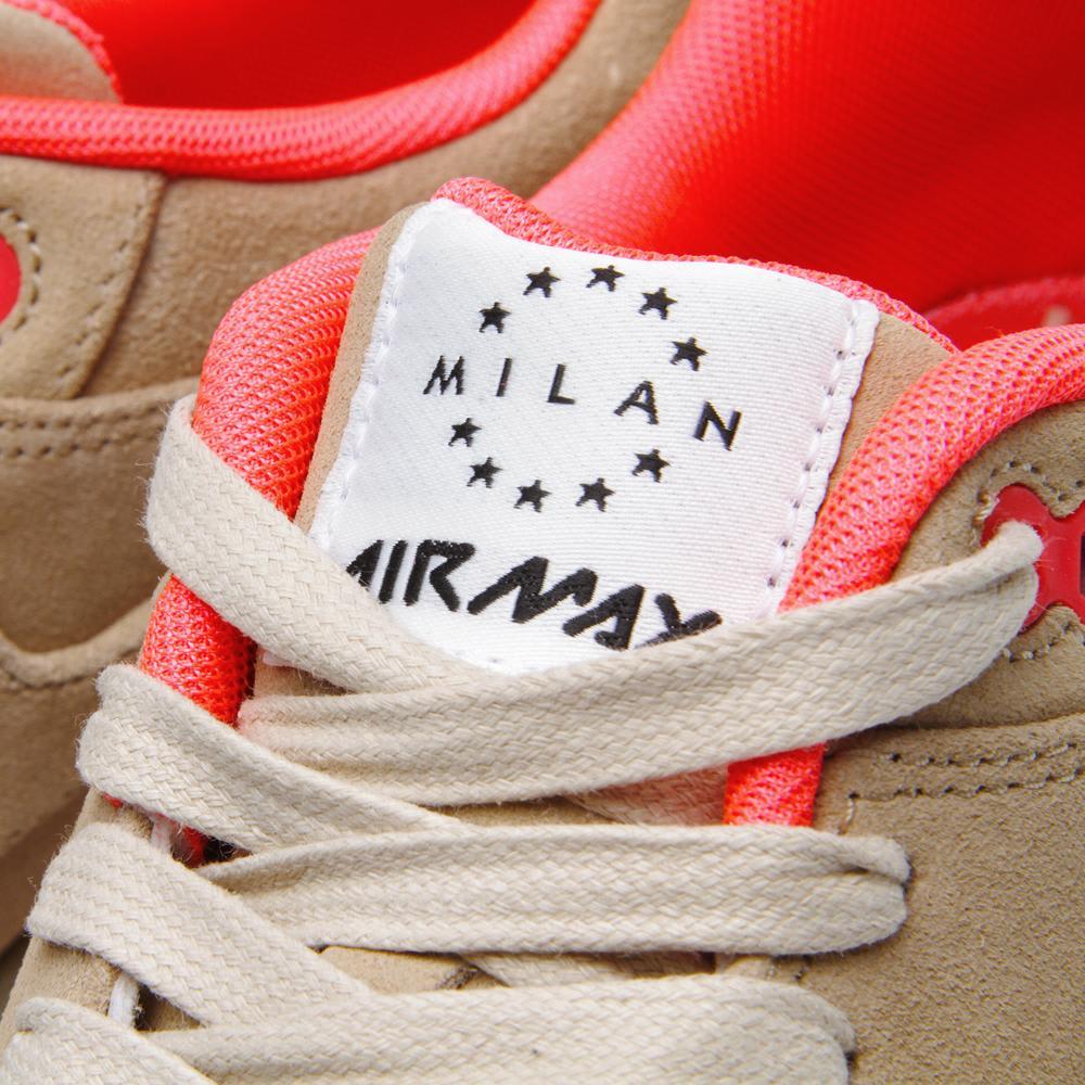 the latest fd0ed dd5b1 Nike Air Max 1 Milano QS. Linen