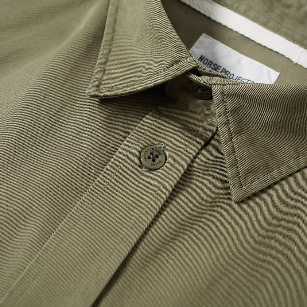 b02532937ab Norse Projects Villads Twill Shirt Dried Olive | END.