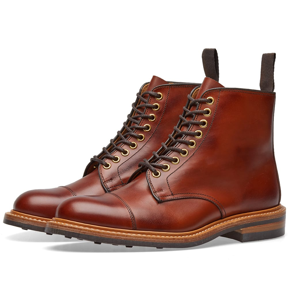 TRICKERS END. X TRICKER'S TOE CAP BOOT