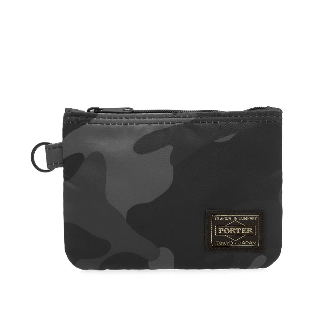 HEAD PORTER JUNGLE CAMO ZIP WALLET