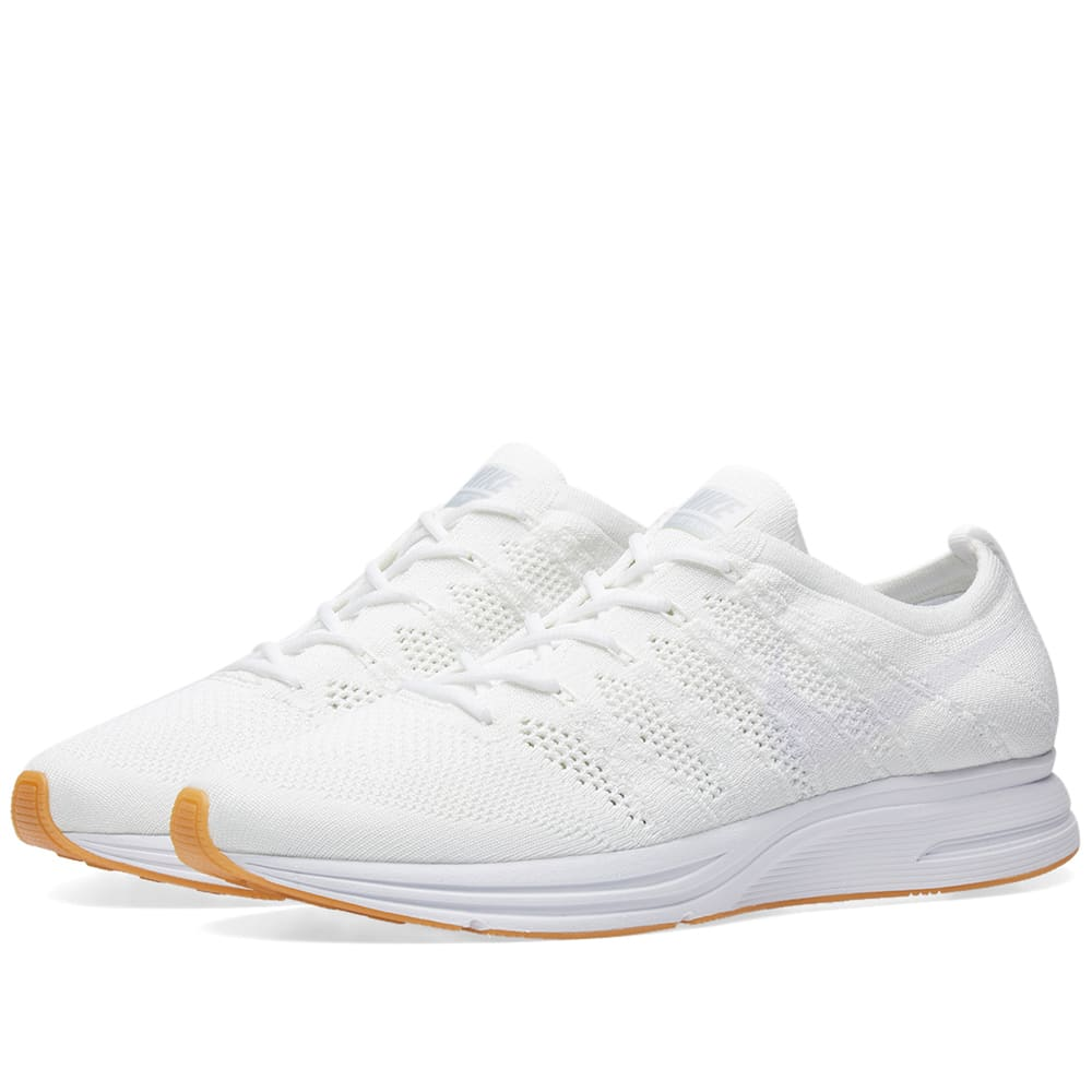 quality design e5574 7a5a3 Nike Flyknit Trainer White   Gum   END.